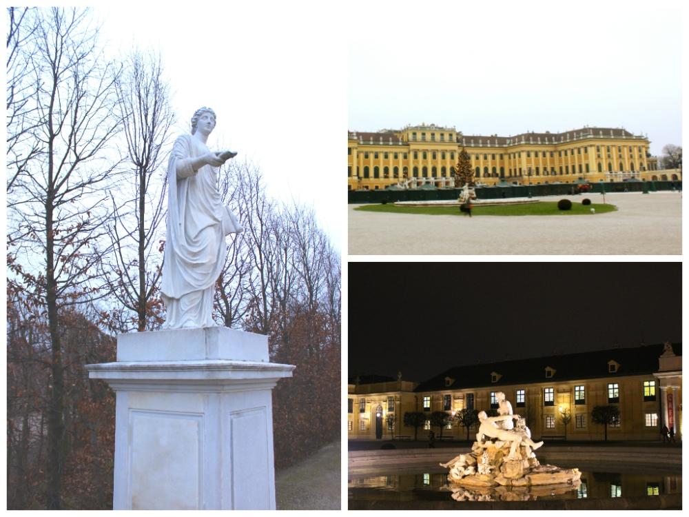 Around the Schönbrunn Palace grounds