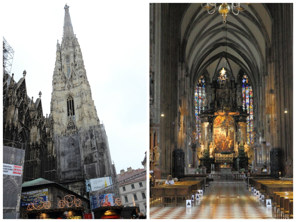 Stephansdom (St. Stephen's Cathedral) and its altar.