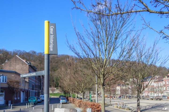 The Parc Saint-Leonard is at the far end of Liege's historic core, away from the city center.