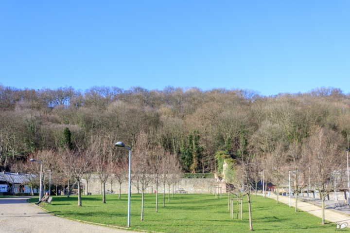 The Parc Saint-Leonard is at the foot of the Citadelle.