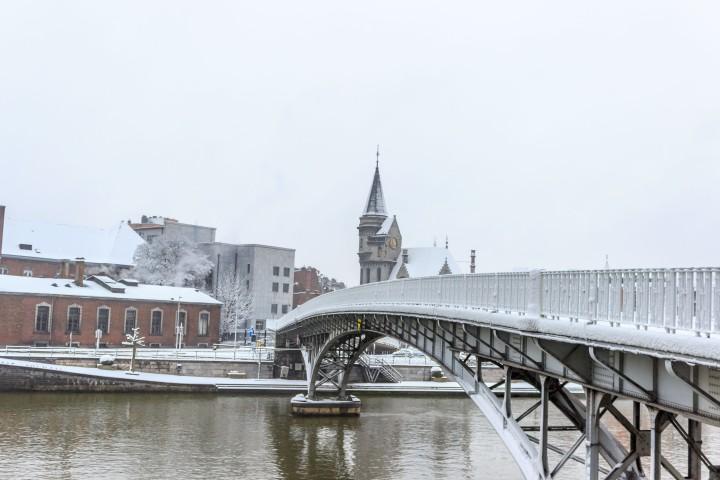 Pasarelle Saucy foot bridge