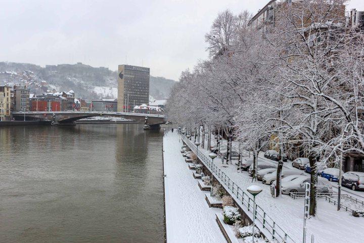 along the river Meuse.